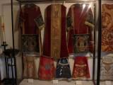 Casullas en el museo